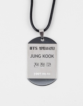 Bts Jung Kook Kpop Kolye FT1146GM