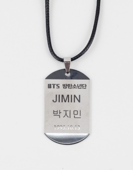 Bts Jimin Kpop Kolye FT1147GM