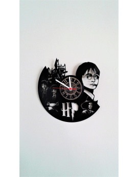 Harry Potter Plak Duvar Saati