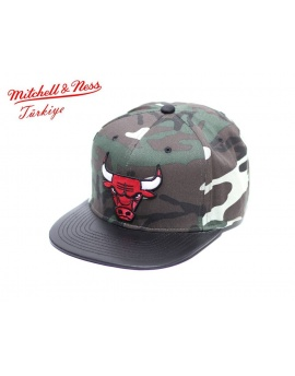 Mitchell & Ness Chicago Bulls Snapback Şapka DM181KS