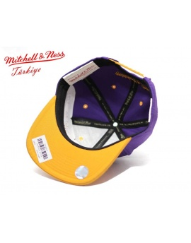 Mitchell & Ness Lakers Snapback Şapka DM196MR