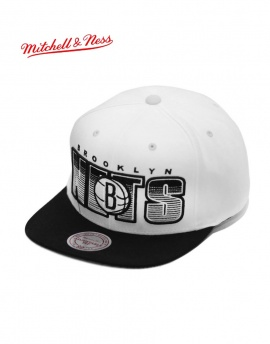 Mitchell & Ness Brooklyn Nets Snapback Şapka DM203BY