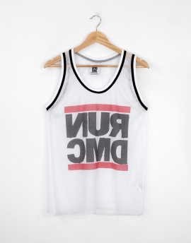 Run DMC Fileli Erkek Tank Top Atlet MD9655BY