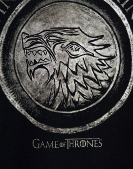 Game Of Thrones Stark Erkek Tişört SU627SY