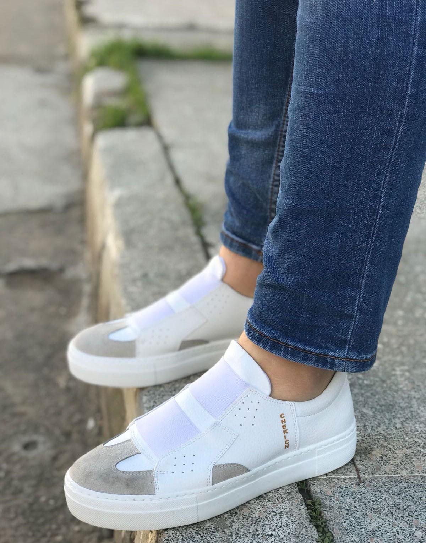 c8b5cd6fbd58d AYAKKABI - Chekich - Bağcıksız Tasarım Erkek Sneaker Spor Ayakkabı ...