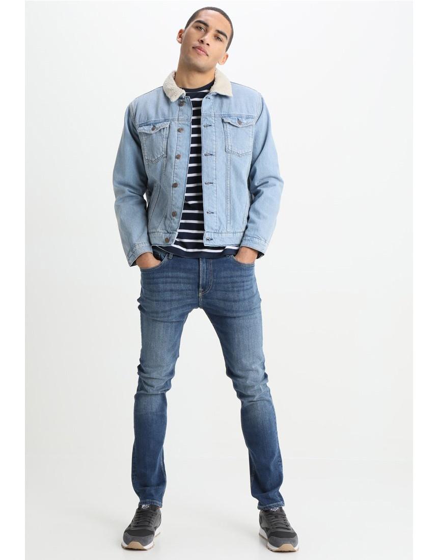 Ceket Your Turn Your Turn Mavi Erkek Jean Kot Ceket Md9511mv